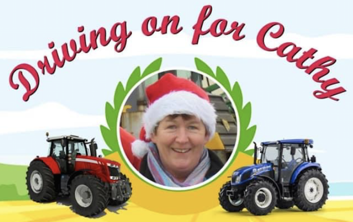 €18,000 raised on the Driving on for Cathy Auction.